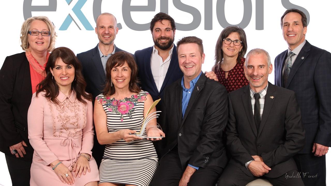 La ccgj d voile les gagnants du gala excelsiors le for Chambre de commerce vancouver